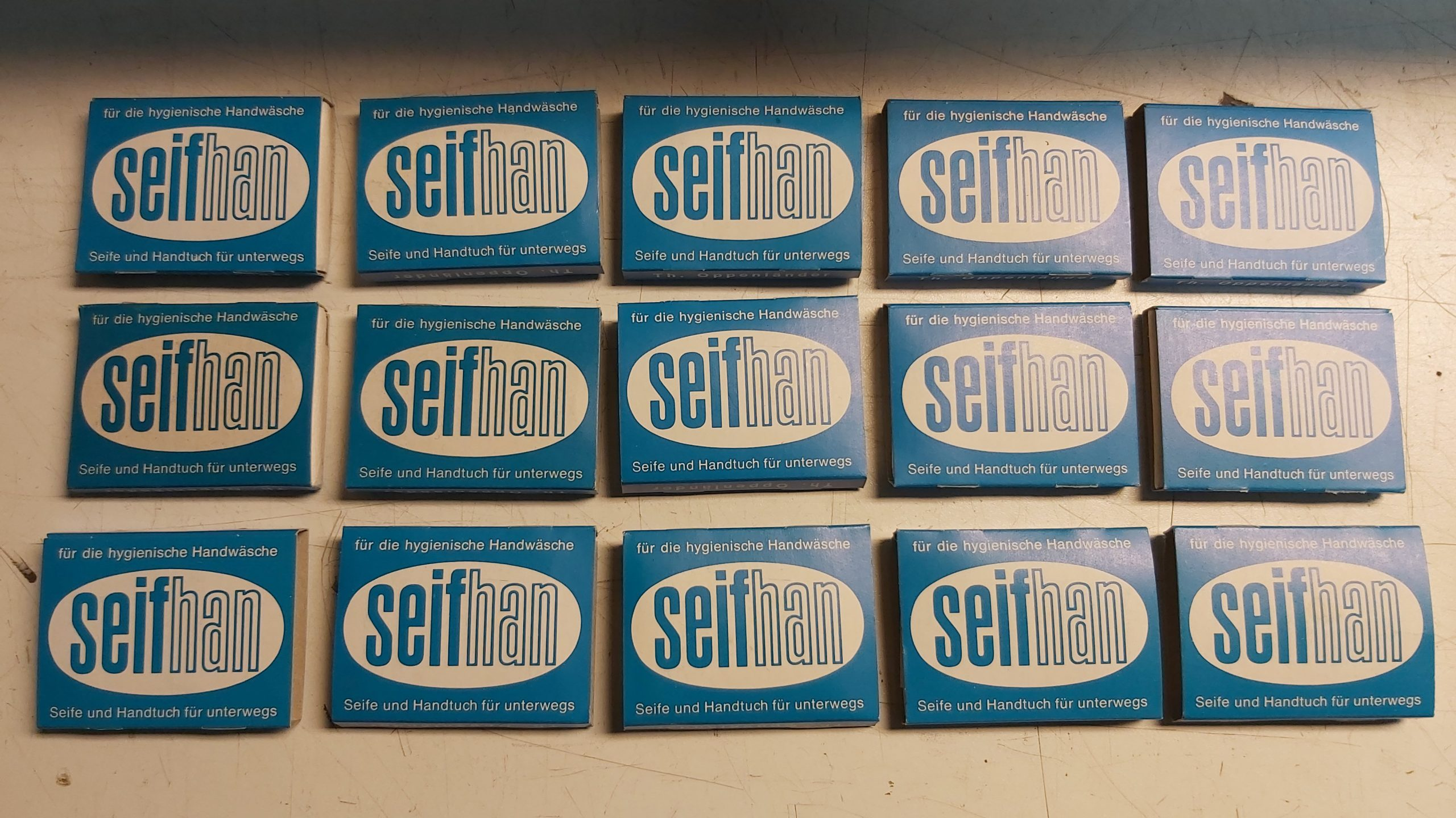 15 x Füllung für Handtuch und Seife Warenautomat Seifhan