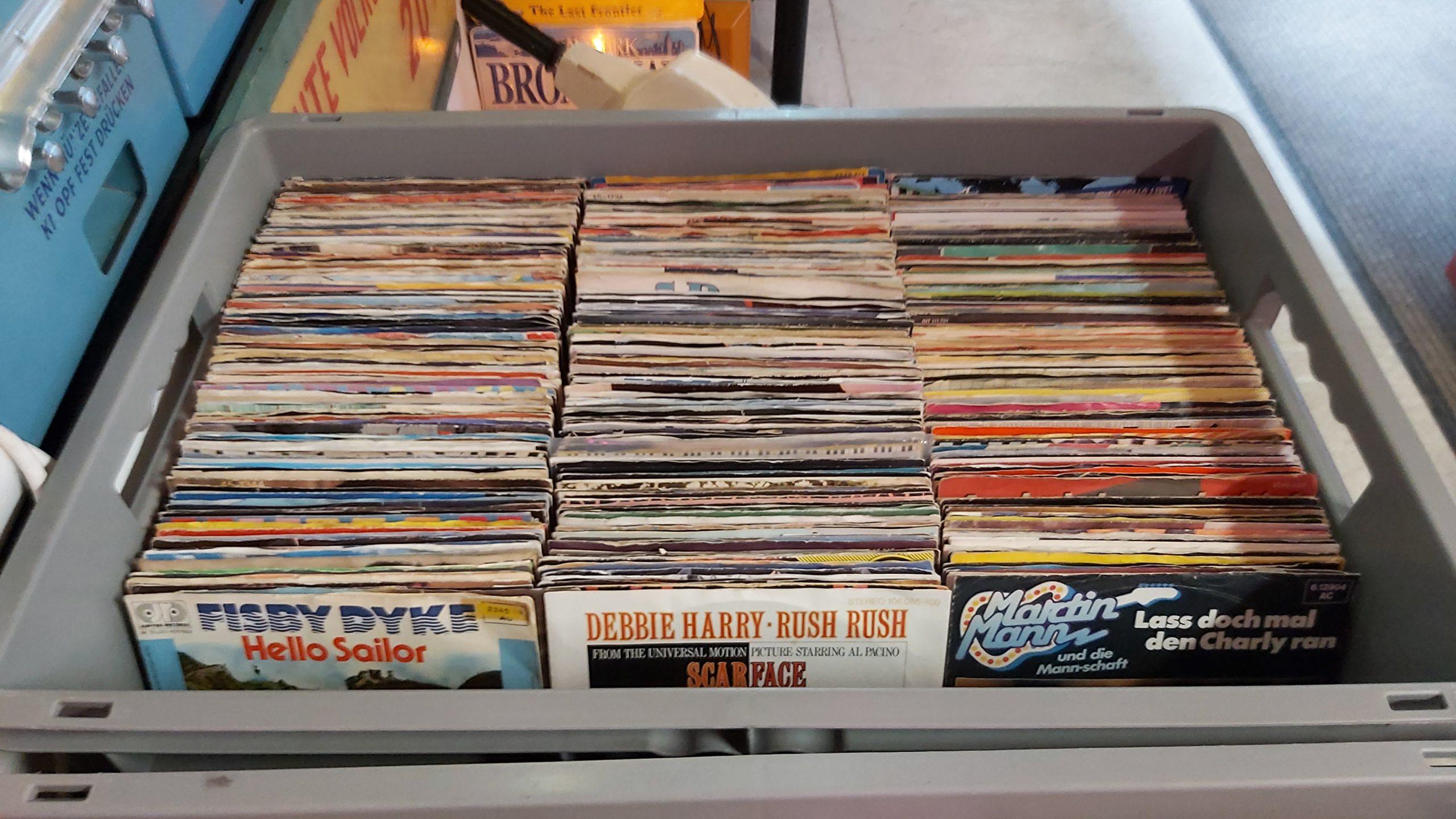 Schallplatten Singles für Musikbox