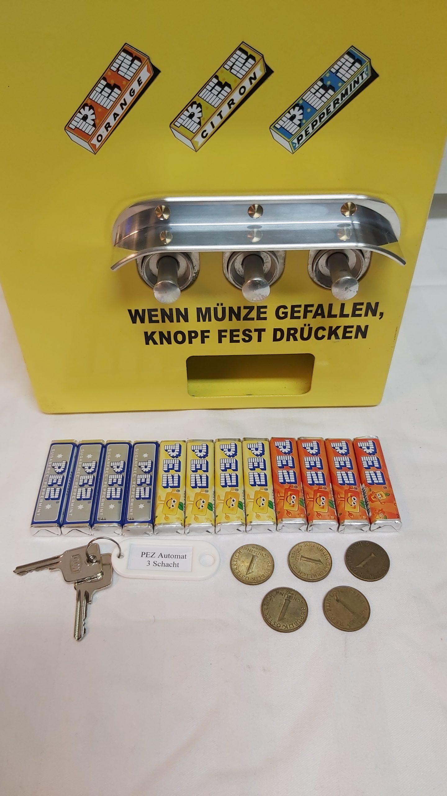 Warenautomat PEZ Automat